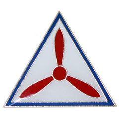 Civil Air Patrol Lapel Pin: Propeller in Triangle
