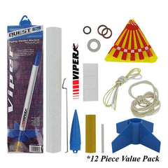 Civil Air Patrol Model Rocketry: Viper Value Pack of 12 Rockets