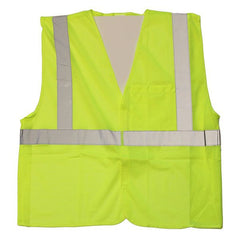 Civil Air Patrol Lime Yellow Break Away Safety Vest - ANSI Class II Approved