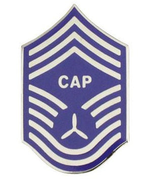 Civil Air Patrol Name Plate Rank: NCO Chief Master Sergeant