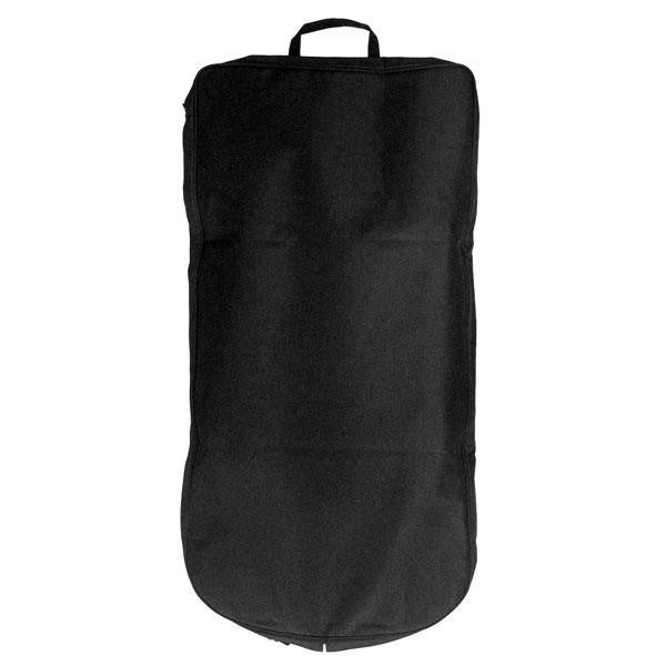 Garment Cover - black polyester with hang tag