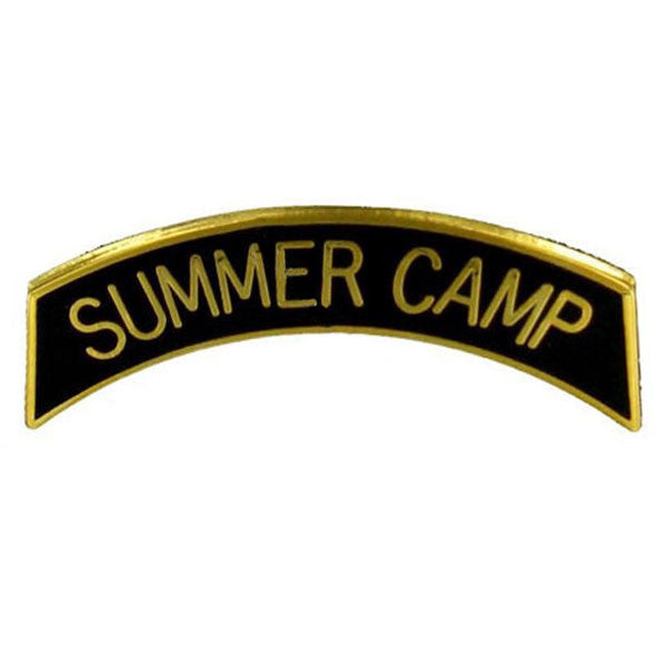 Army ROTC Arc Tab: Summer Camp - gold plated