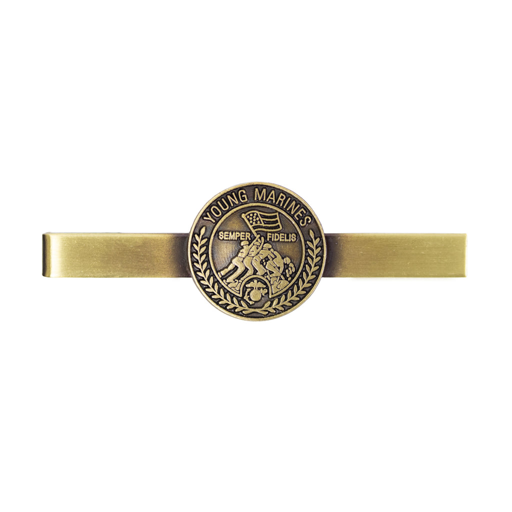 Young Marines Tie Bar: YM Seal
