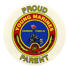 Young Marine's Decal: Proud Parent