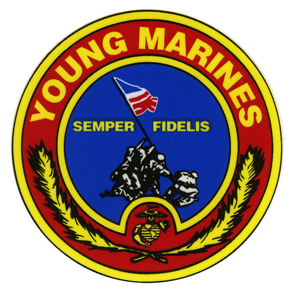 Young Marine's Decal: Iwo Jima