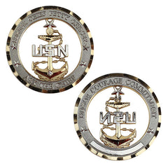 Navy Coin: E8 Chief Petty Officer