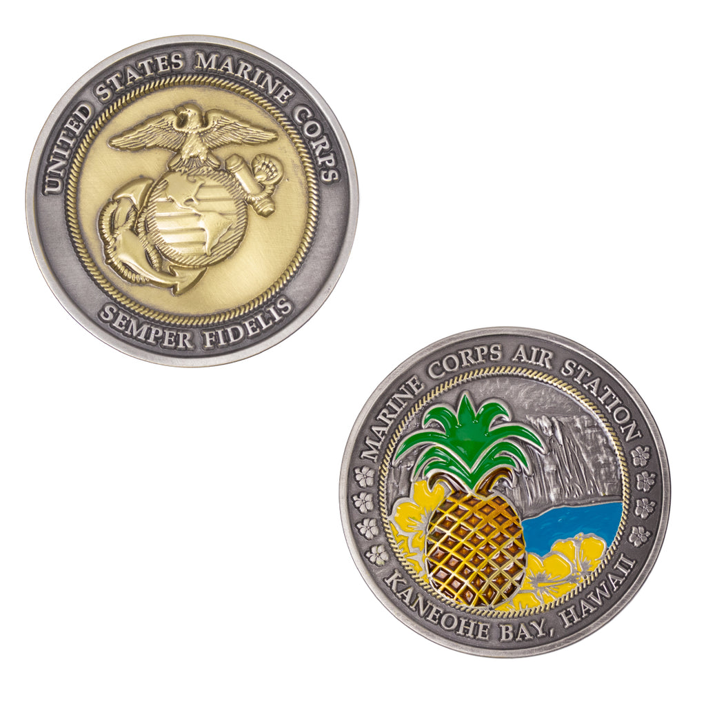 Marine Corps Coin: 2