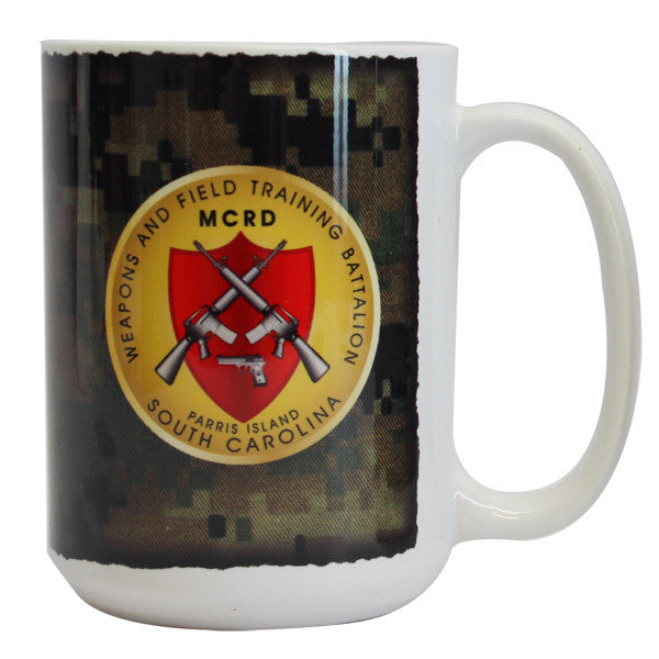 Marine Corps Mug -  Parris Island Weapons and Field Training
