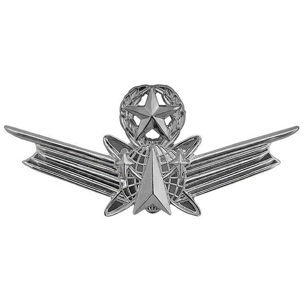 Army Dress Badge: Master Space - miniature, mirror finish