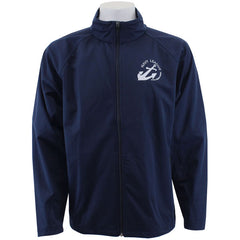 Navy League Navy Blue Soft Shell Jacket with White Logo