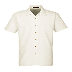 Navy League Men's Barbados Textured Camp Shirt