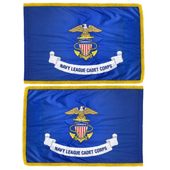 NLCC Naval League Cadet Corps Unit Flag - Printed