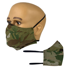 OCP Jersey Knit Cotton Face Mask with Head Bands