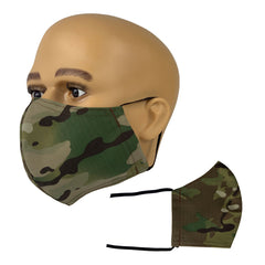 OCP Ripstop Face Mask with Adjustable Length Ear Loops