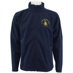 U.S. Naval Sea Cadet Corps Navy Blue Soft Shell Jacket with Full Color Logo