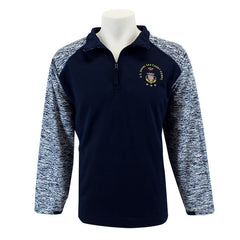 Sea Cadet 1/4 Zip Sport Fleece with USNSCC Logo