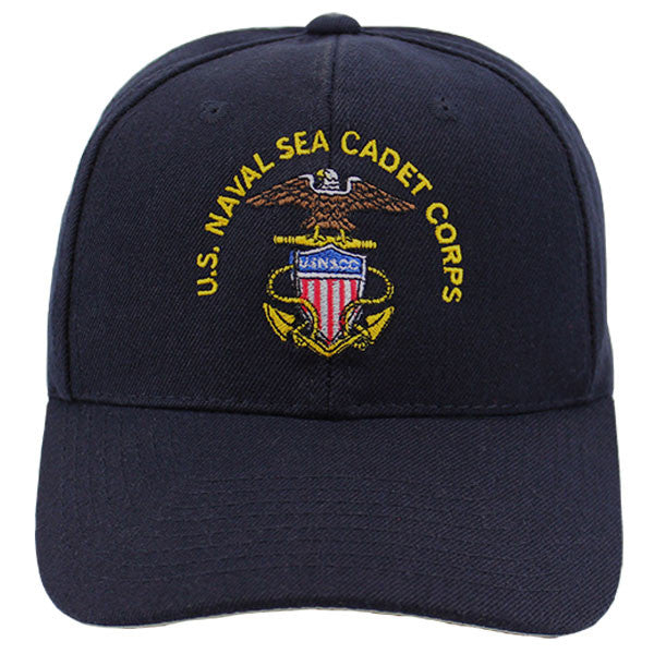 USNSCC Ball Cap - Navy blue ball cap with adhesive back