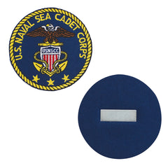 USNSCC Blazer Patch  : Embroidered USNSCC Logo w/ Magnetic Backing