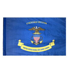 USNSCC Naval Sea Cadet Corps Unit Flag - Printed Single Sided