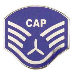 Civil Air Patrol Tie Tac: CAP NCO Staff Sergeant