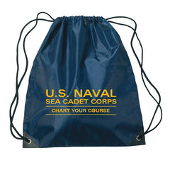 Sea Cadet Drawstring Backpack Blue
