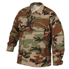 Camouflage Uniform:  Adult BDU Shirt  - Battle Dress Uniform