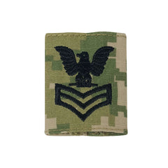 USNSCC / NLCC - PO1 with (3 Stripes) Parka Tab Embroidered on Type III