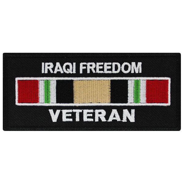 Veteran Patch: Iraqi Freedom
