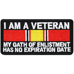 Veteran Patch: Oath of Enlistment
