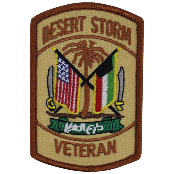 Veteran Patch: Desert Storm