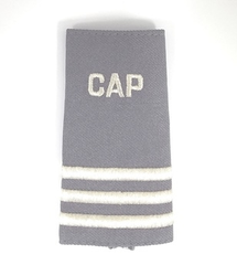 Civil Air Patrol Grey Epaulet: Senior Flight Officer - unisex