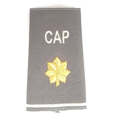 Civil Air Patrol Grey Epaulets: Major - male