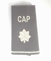 Civil Air Patrol Grey Epaulets: Lieutenant Colonel - male