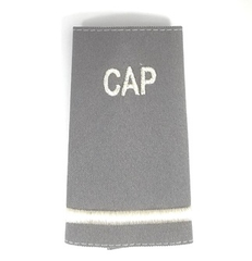 Civil Air Patrol Grey Epaulet: Flight Officer - unisex