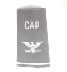 Civil Air Patrol Grey Epaulets: Colonel - male