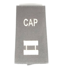 Civil Air Patrol Grey Epaulets: Captain - male