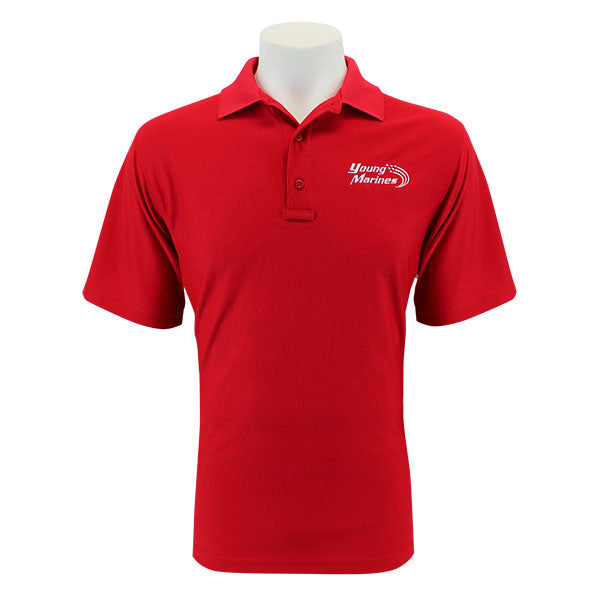 Young Marines 24-7 Performance Polo Shirt with Young Marines Emblem