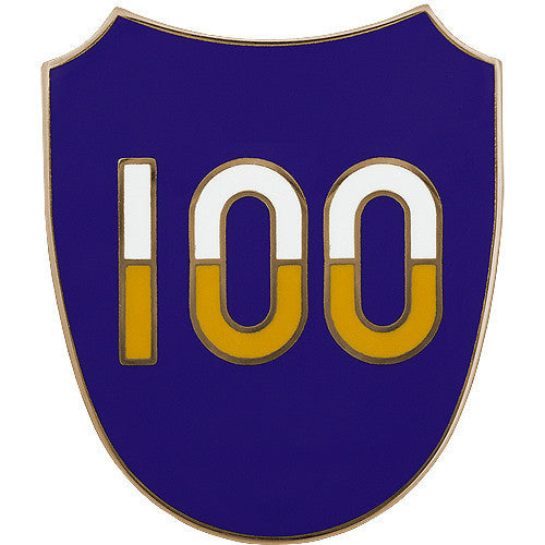 Army Combat Service Identification Badge (CSIB): 100th Training Division