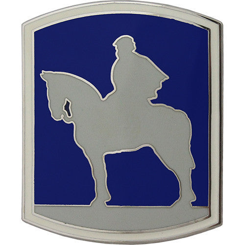 Army Combat Service Identification Badge (CSIB): 116th Infantry Brigade Combat Team