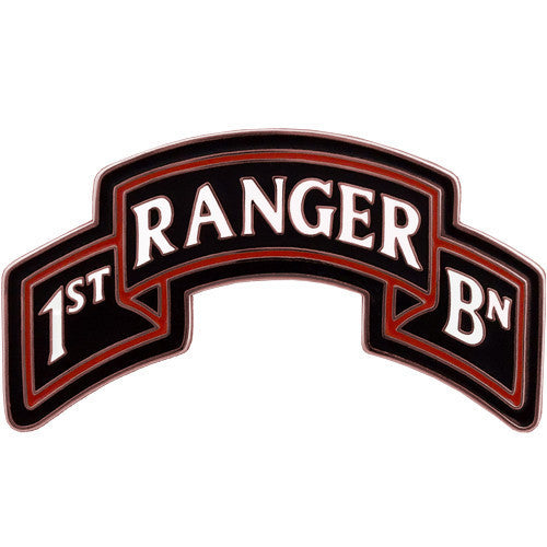 Army Combat Service Identification Badge (CSIB): 1st Ranger Battalion Scroll - 75th Regiment