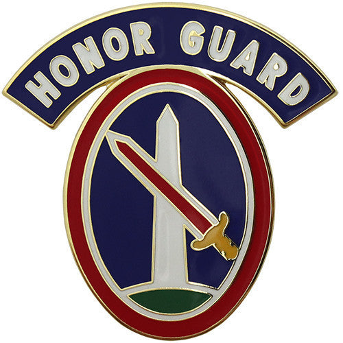 Army Combat Service Identification Badge (CSIB): 3rd Infantry Regiment Military District of Washington with Honor Guard Tab