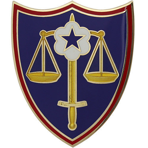 Army Combat Service Identification Badge (CSIB): Trial Defense Service