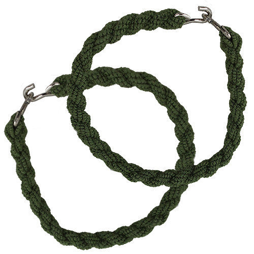 Boot Bands: Trouser Blousers - Green - 2 Pairs