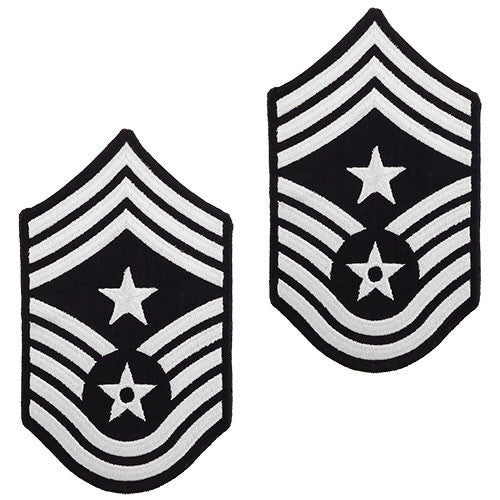 Air Force Chevron: Command Chief Master Sergeant - large color