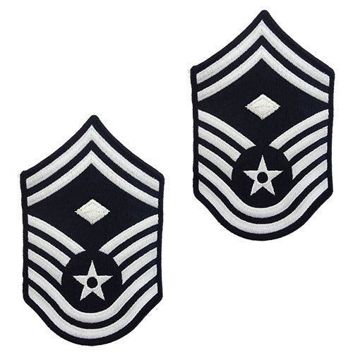Air Force Chevron: Senior Master Sergeant: First Sergeant - small color