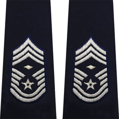 Air Force Epaulet: Chief Master Sergeant: First Sergeant: Enlisted - large