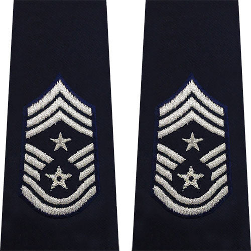 Air Force Epaulet: Command Chief Master Sergeant: Enlisted - large