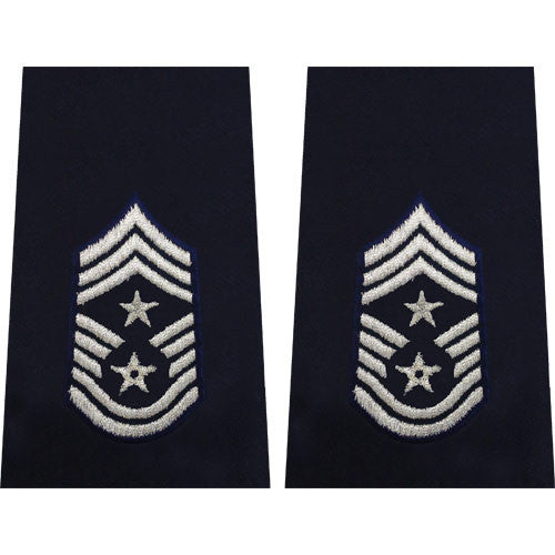 Air Force Epaulet: Command Chief Master Sergeant: Enlisted - small