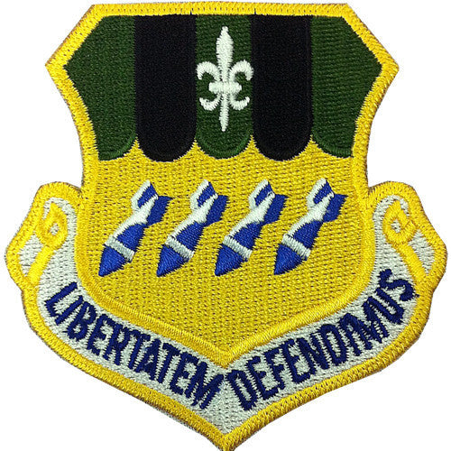 Air Force Patch: Second Bomb Wing - color