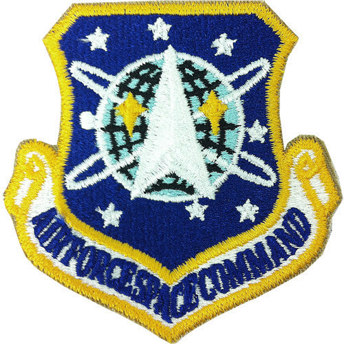 Air Force Patch: Space Command - color